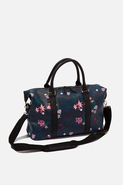 Weekend Away Duffel Bag, JUNGLE FLORAL