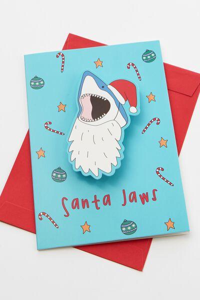 Christmas Card 2019, SANTA JAWS