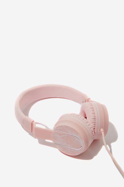 Frequency Headphones, BLUSH QUARTZ