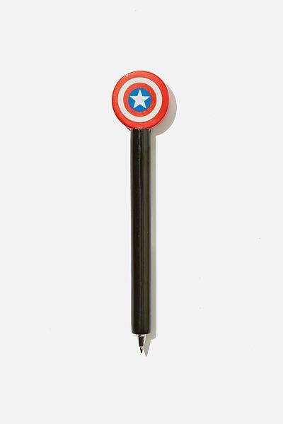 Novelty Pen, LCN MARVEL CAPTAIN AMERICA SHIELD