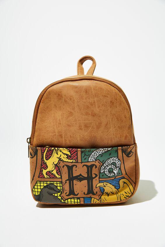 Harry Potter Mini Cairo Backpack, LCN WB HPO HOGWARTS CREST OVERSIZED
