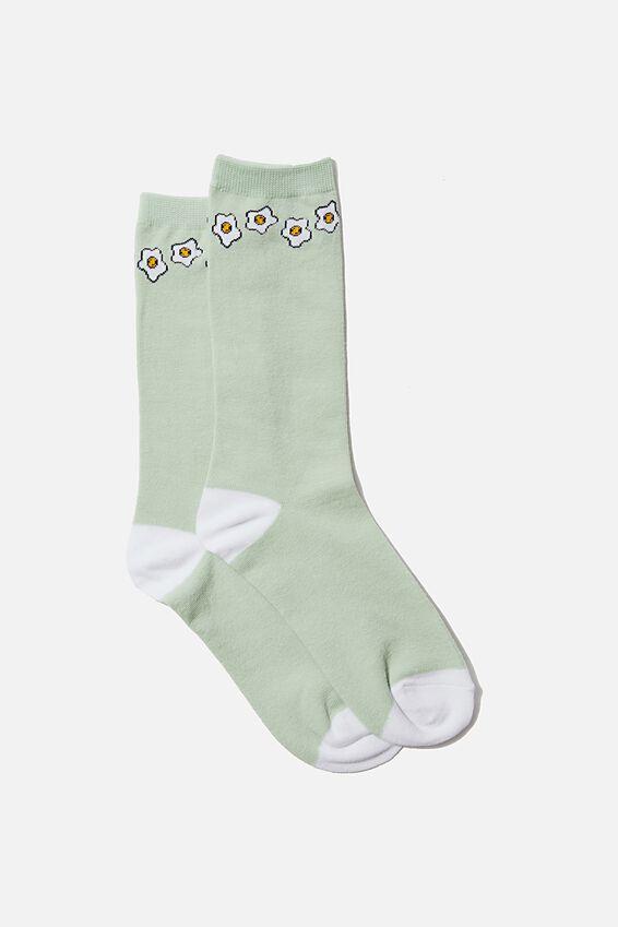 Socks, EGGS