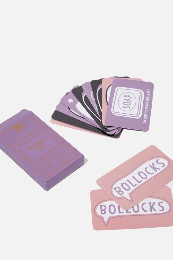 Pocket Party Games, PROFANITY SNAP!