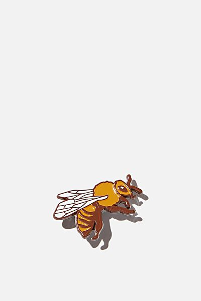 Enamel Badges, BUSY BEE