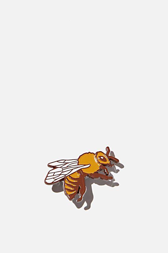 Enamel Badges, BUSY BEE