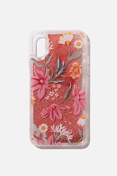 Shake It Phone Case Iphone X,Xs, GARDEN PARTY FLORAL