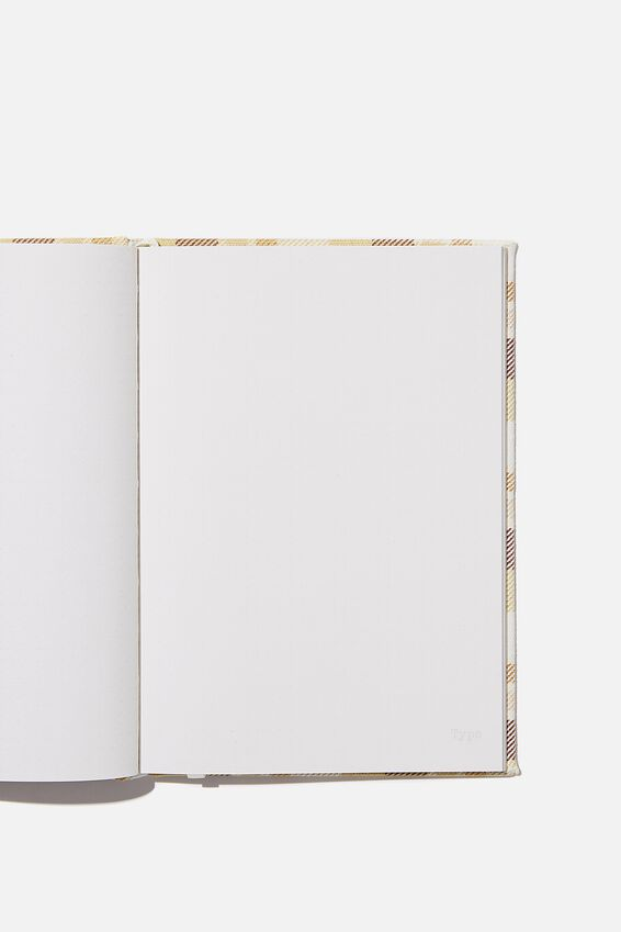 A5 Dot Oxford Notebook, DASHED GRID