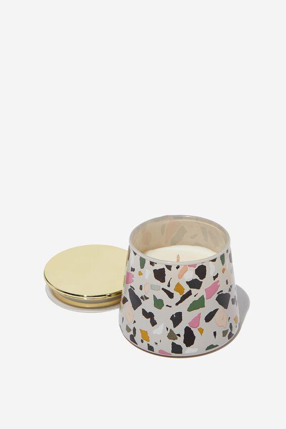 Angle Candle, PINK TERRAZZO