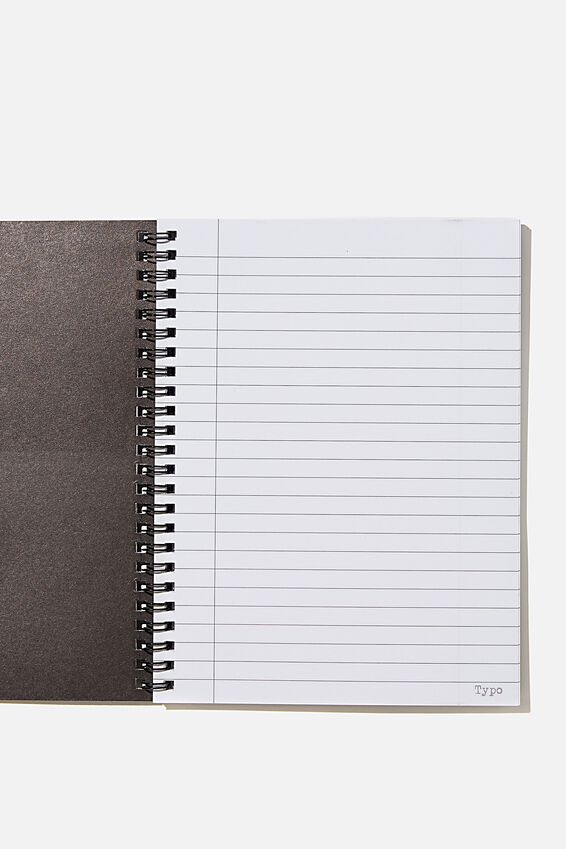 A5 Spinout Notebook Recycled, LCN MT BIG KID CROWN
