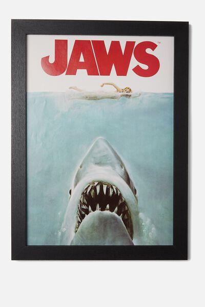 A3 Framed Print, LCN JAWS