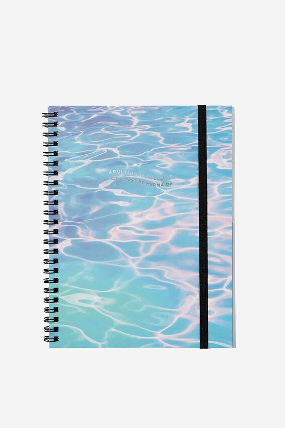 A5 Spinout Notebook - 120 Pages, ADULTING IS BULLSHIT!
