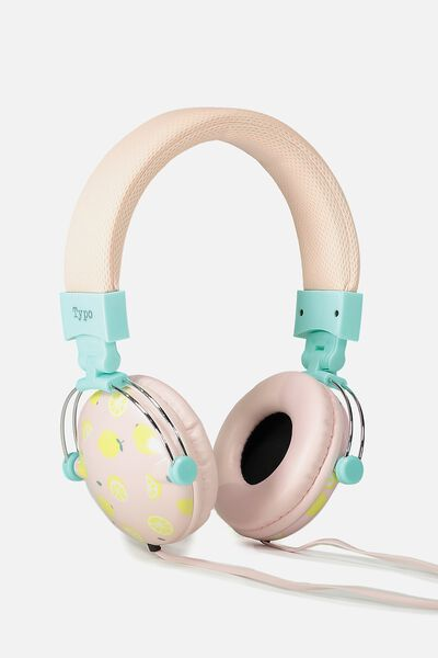Tune Out Headphones, LEMON SQUEEZE