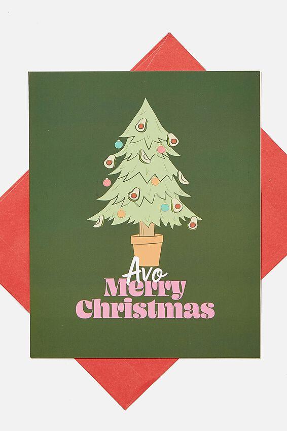 Christmas Card 2020, AVO MERRY CHRISTMAS