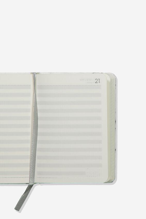 2020 A6 Daily Buffalo Diary, WHITE MARBLE