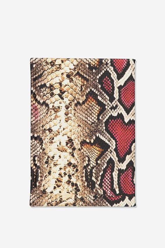 A5 Fash Notebook, SNAKE