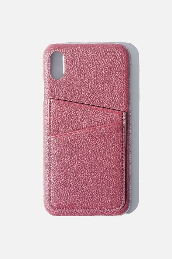 Phone Case iPhone Xs Max, MULBERRY