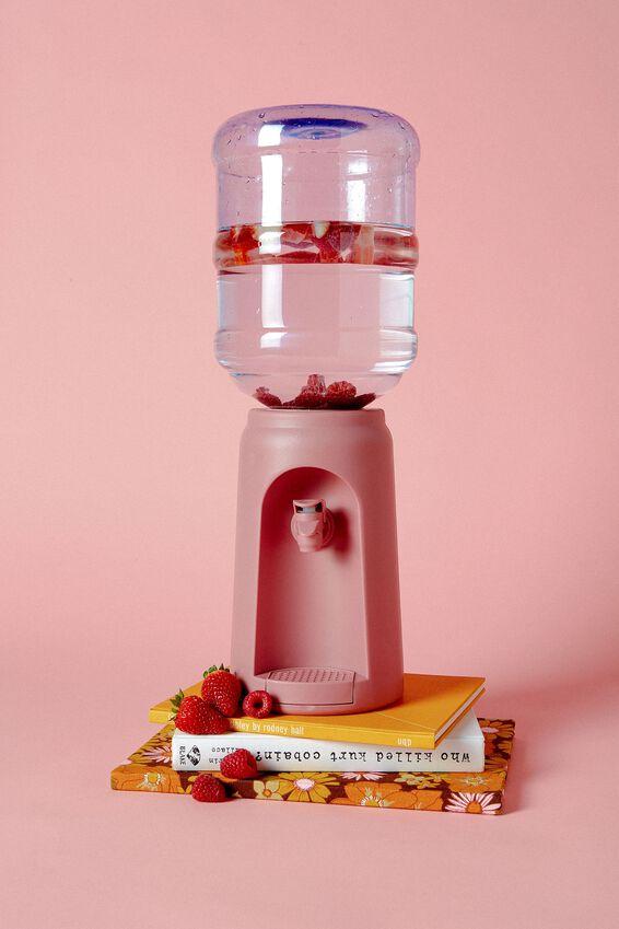 Desktop Water Cooler, DUSTY PINK