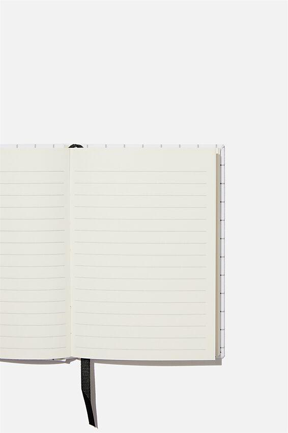 A6 Oxford Notebook, CREAM CHECK