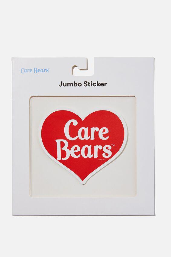 Care Bears Jumbo Sticker, LCN CLC CARE BEARS