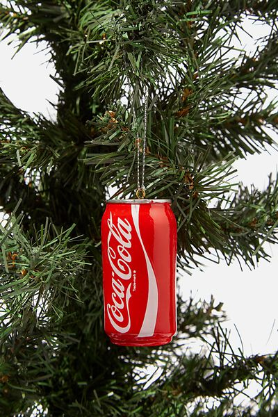 Resin Christmas Ornament, LCN COK COLA CAN