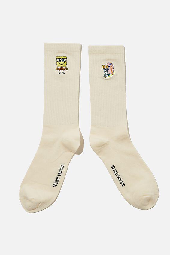SpongeBob SquarePants Socks, LCN NIC SP CHARACTERS