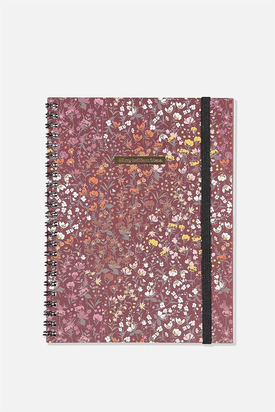 A5 Spinout Notebook Recycled, BRILLIANT IDEAS