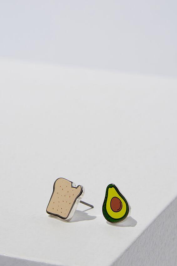 Novelty Earrings, GUAC