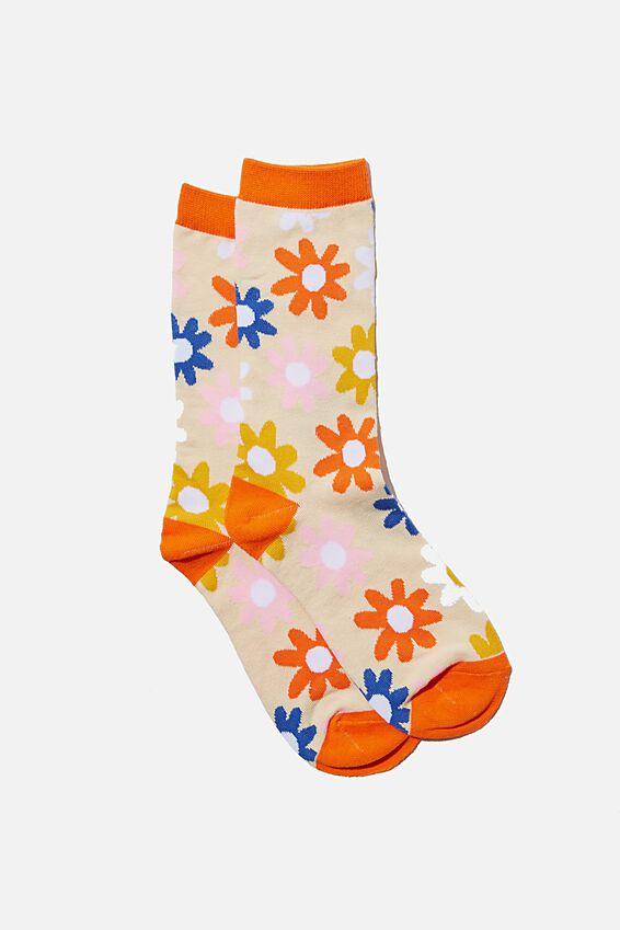 Socks, BRIGHT DAISY