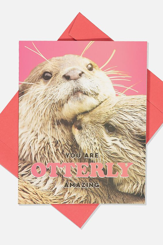 Love Card, PHOTOGRAPHIC OTTERLY AMAZING