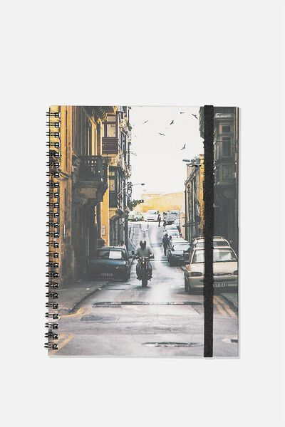 A5 Spinout Notebook Recycled, ROAD HUMP