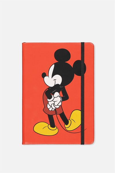 A5 Licensed Buffalo Journal, LCN RED MICKEY