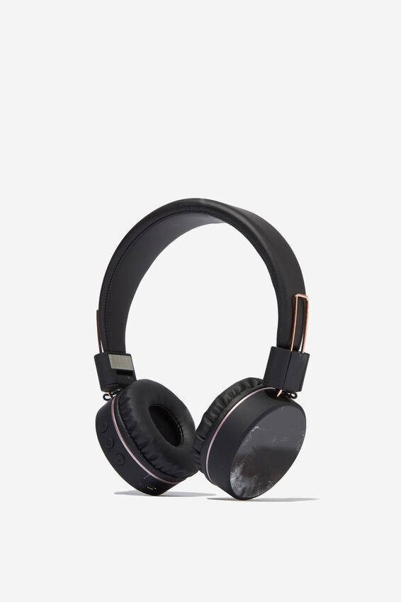 Creative Signal Wireless Headphones, BLACK MARBLE