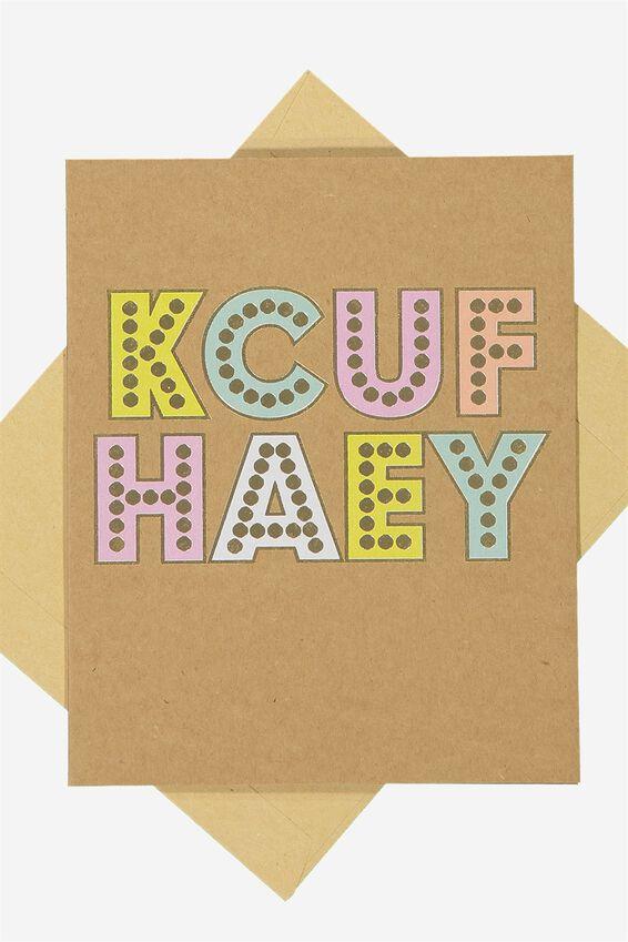 Blank Card, KCUF HAEY!!