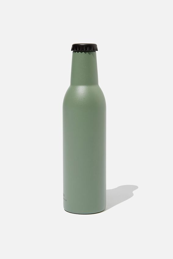 Bottle Top Metal Drink Bottle, EUCALYPT