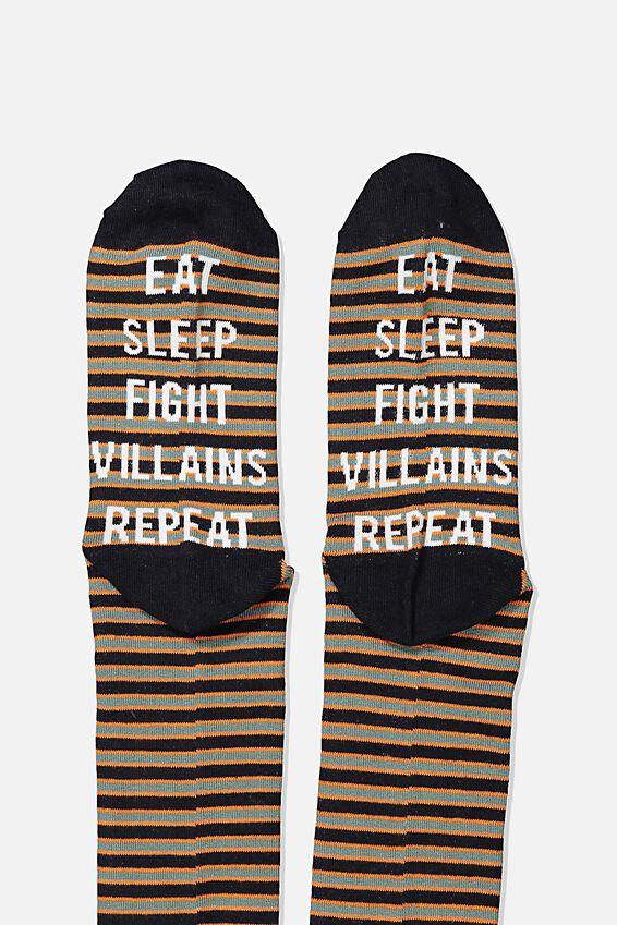 Socks, EAT SLEEP FIGHT REPEAT
