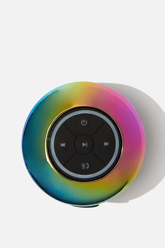 Wireless Led Shower Speaker, OIL SLICK 2.0