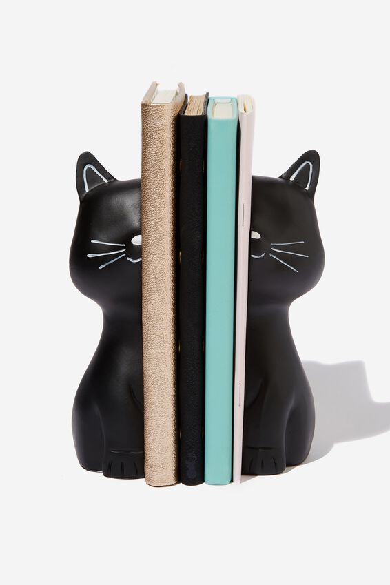 Novelty Bookends, BLACK CAT