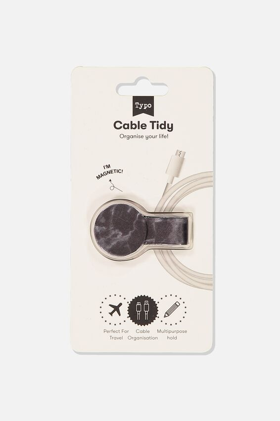 Cable Tidy, BLACK MARBLE