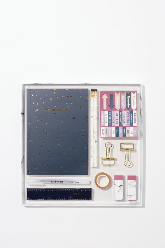 Dot Journal Gift Set, AIM FOR THE STARS