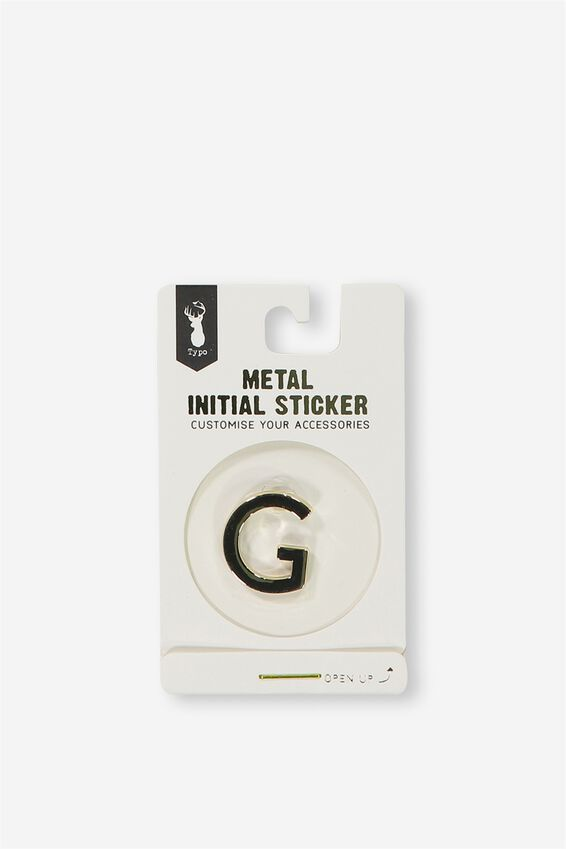 Metal Stickers, GOLD G
