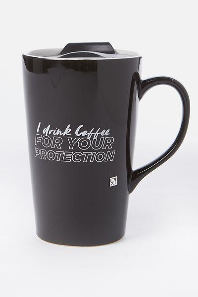 travel mugs typo