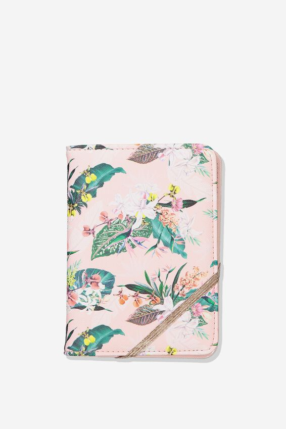 Passport Holder, BIRDS OF PARADISE