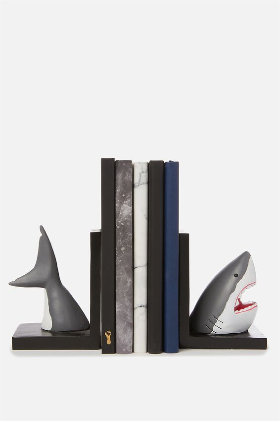 Novelty Bookends, SHARK