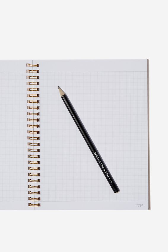 A5 Spinout Notebook Grid Internal, CHASE THOSE DREAMS