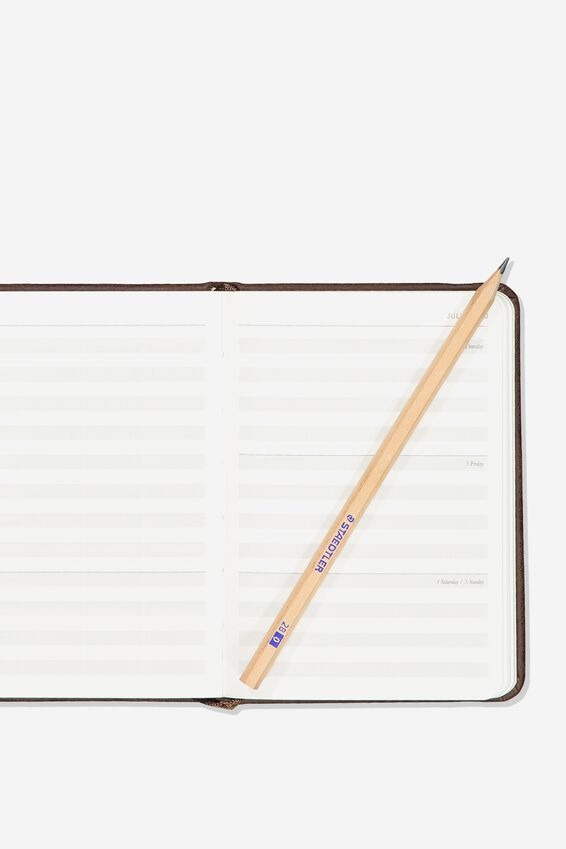 2020 A6 Weekly Buffalo Diary, RICH TAN