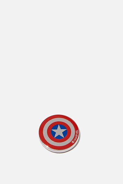 Enamel Stickers, LCN MARVEL CAPTAIN AMERICA SHIELD