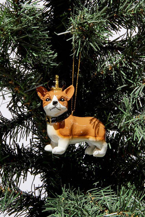Christmas Ornament, CORGI CROWN