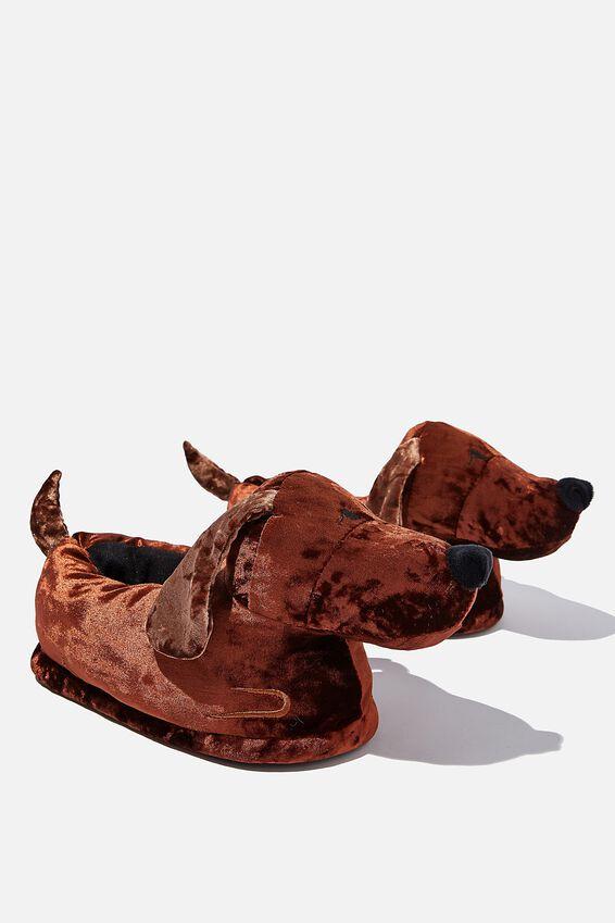 Novelty Slippers, DACHSHUND