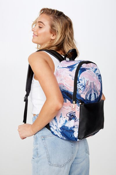 Everyday Backpack, MOODY MARBLE