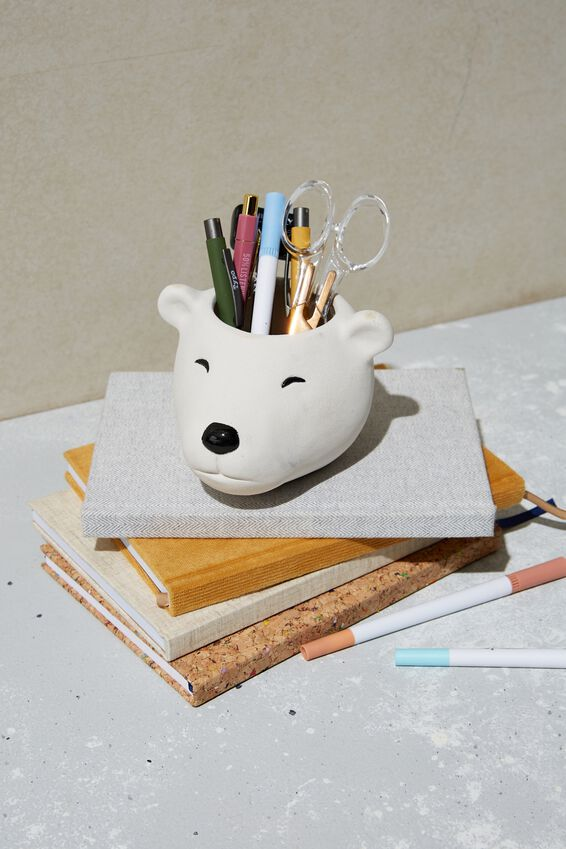 Pen Holder, POLAR BEAR